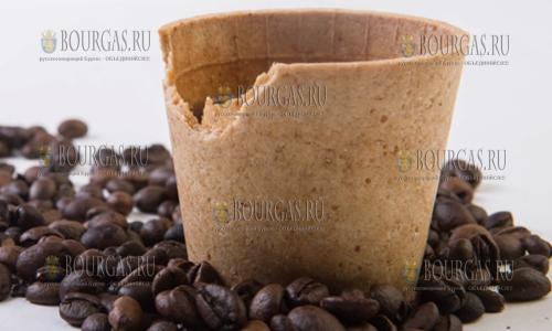Болгары придумали съедобную чашку