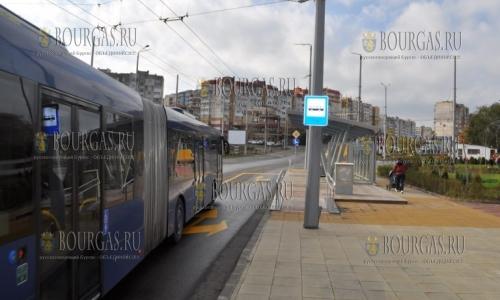 Новая транспортная схема в Бургасе