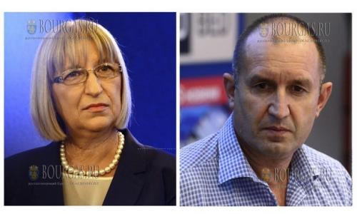 Румен Радев (ГЕРБ) и Цецка Цачева (БСП) вышли во второй тур президентских выборов в Болгарии, нового президента Болгарии, тур выборов в Болгарии