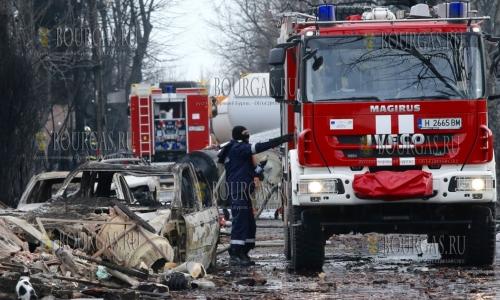 12 декабря, селение Хитрино, работы по устранению последствий катастрофы идут полным ходом
