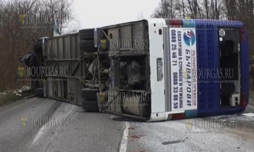 22 декабря, на трассе София - Варна, в ДТП погибли 3 человека и 26 получили ранения, ДТП в Болгарии