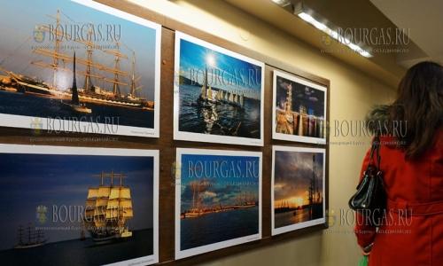 22 декабря, Варна, начала работать фото выставка Tall Ships 2016