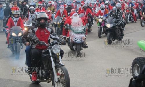 25 декабря, Плевен, рожденственское мотошествие - в котором принялм и участие 300 байкеров