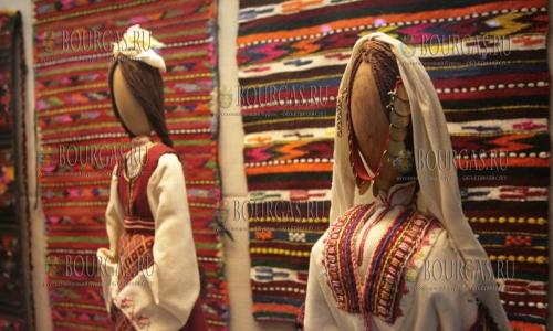 28 декабря, София - Национальный исторический музей, выставка болгарской вышивки