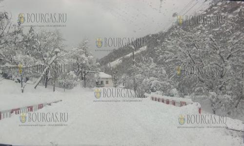 29 декабря, Северо-Запад Болгарии завалило снегом, зима пришла в Болгарию
