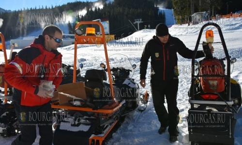 4 декабря, Банско, метсные горыне спасатели также уже готовятся к предстоящему зимнему сезону