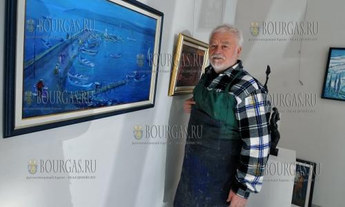 5 декабря, Бургас галерия Неси, персонального выставка известного художник и скульптора Ненчо Русева