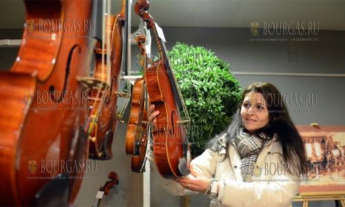 8 декабря, Старозагорская опера, выставка скрипичных дел мастеров - Скрипичное волшебство