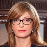 экс-министр юстиции Болгарии, Екатерина Захариева
