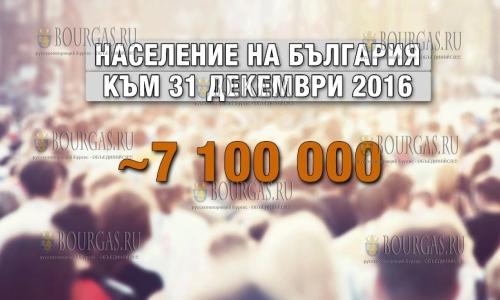 Население Болгарии продолжает сокращаться