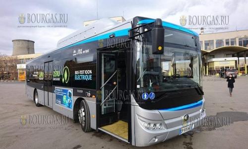 Первый электробус нового поколения доставлен в Софию