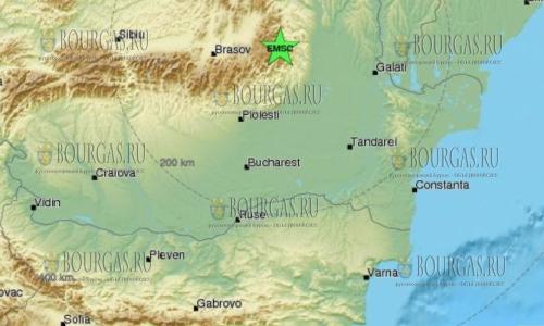 Жители Бургаса ощутили подземный толчок