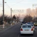 В Болгарии в районе селения Хитрино взорвались цистерны, есть жертвы