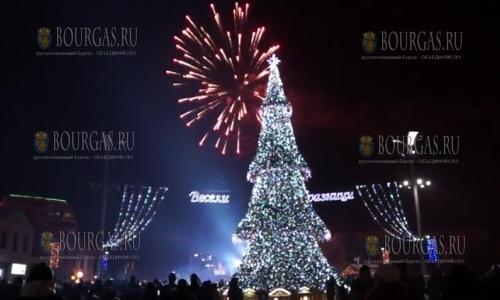 1 января 2017 года, Новый год в Бургасе