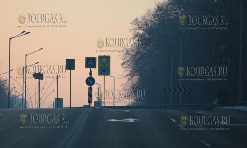 1 января 2017 года, София, нулевой трафик на дорогах болгарской столицы