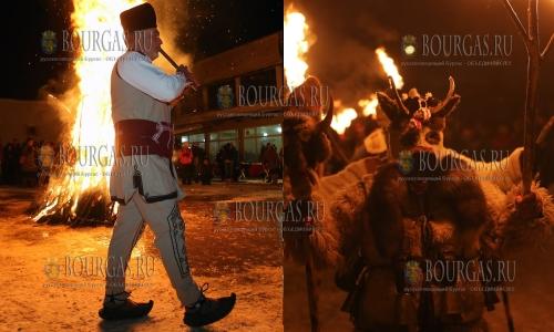 14 января 2017 года, Перник, праздник-карнавал Сурова, в котором приняли участие 41 населенный пункт региона