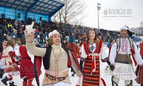 14 января 2017 года, Ситли, праздник-карнавал - Симитлия - Древната земя на кукерите, проводится уже в 14-й раз
