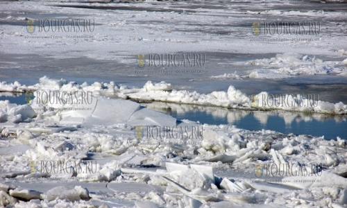 15 января 2017 года, Силистра, уровень реки Дунай в районе города за сутки поднялся на 98 см и теперь составляет 316 см