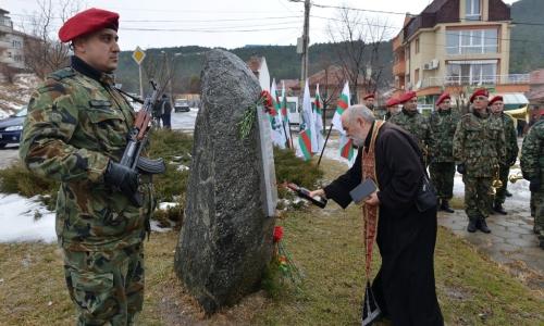 17 января 2017 года, Сливен, в городе отметили 139 годовщину освобождения от Османского ига