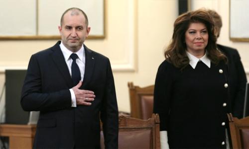 19 января 2017 года, президент Болгарии - Румен Радев и вице-президент Болгарии - Илияна Йотова, принесли присягу в Народном собрании