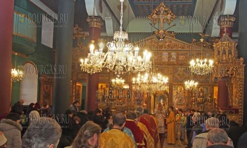 18 января 2017 года, Варна, церковь Святого Афанасия празднует свой храмовый праздник