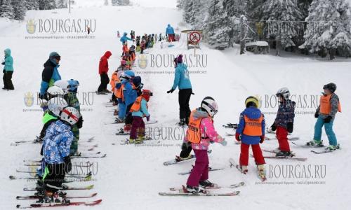 18 января 2017 года, Витоша, море снега, мороз - что может быть лучше для юных горнолыжников