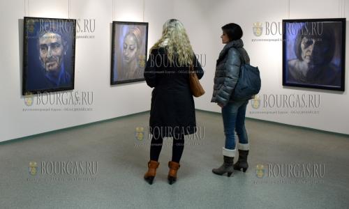 21 января 2017 года, художественная галерея в Благоевграде, открылась выставка художника Десислава Минчева