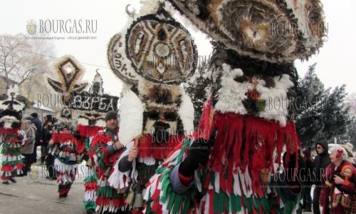 21 января 2017 года, Радомир, праздник - Таинство Сурва, фестиваль традиционно проводится за неделю до международного маскарада в Пернике