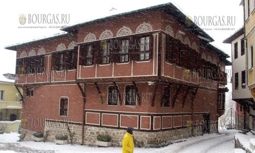 24 января 2017 года, Пловдив - Старый город, символ старого города - Балабановата къща