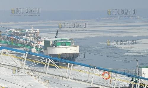 27 января 2017 года, Видин, только 30% поверхности Дуная в регионе сейчас не покрыто льдом