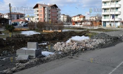 28 января 2017 года, Приморско, на улица Иглика возникла стихийная свалка