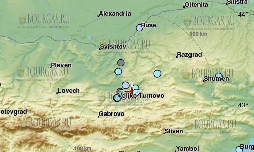 3 января 2017 года, Велико Тырново, землетрясение в 4,2 балла по шкале Рихтера, в Болгарии землетрясение