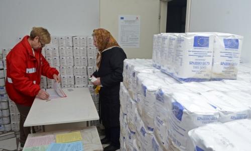 4 января 2017 года, в Болгарии начали раздавать продуктовые наборы нуждающимся