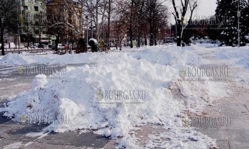 9 января 2017 года, София, снега в этом году в столице Болгарии хватает