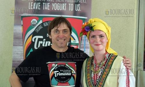 Атанас Вылев производит болгарский йогурт №1 в США