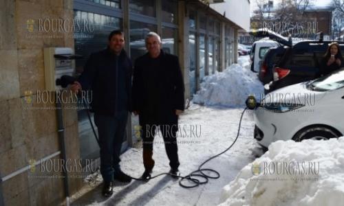АЗС для электромобилей в Болгарии - Самоков