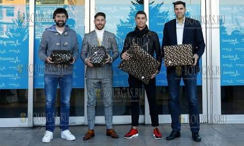 Обувь производства Болгарии носит сам Рональдо