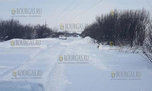 Полюс холода в Болгарии сегодня в Кнежа