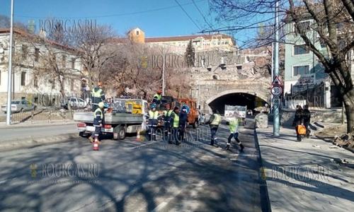 15 февраля 2017 года, Пловдив, один из туннелей в городе, в свете последних событий, решили полностью обследовать