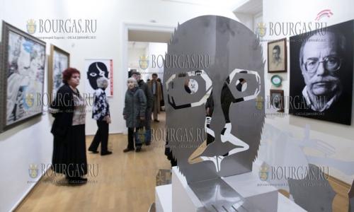 17 февраля 2017 года, София - Национальная художественная галерея, выставка болгарского художника Ивана Газдова