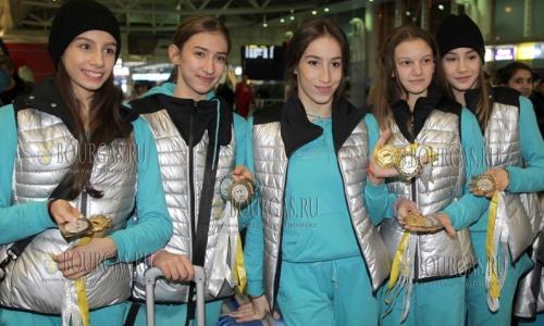 21 февраля 2017 года, София, сборная Болгари по художественной гимнастике выиграла на гран-при в Москве золотую, бронзовую и 3 серебряных медали