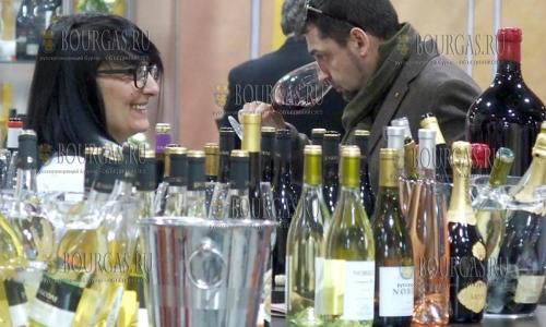 22 февраля 2017 года, Пловдив, выставка - Винария-2017, в которой приняли участие, как болгарские так и зарубежные винопроизводители