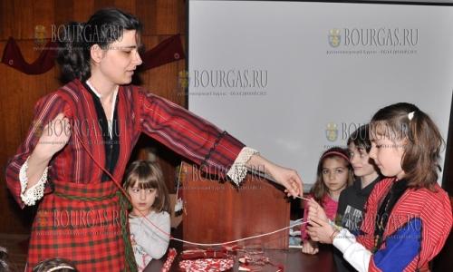 25 февраля 2017 года, Истоический музей в Хасково, здесь вспоминают традиции по которым ежегодно к 1-му марта создавали мартеници