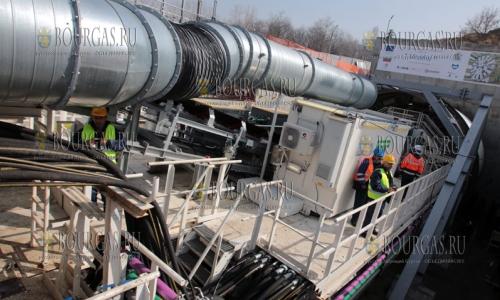27 февраля 2017 года, туннелепроходчик - Витоша, будет продивать тоннели для новых линий метрополитена в Софии