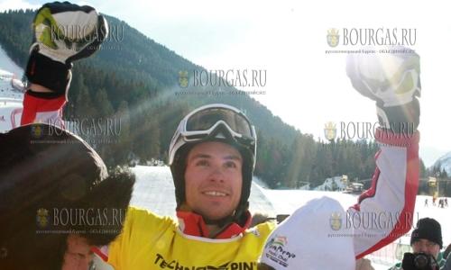 3 февраля 2017 года, Банско, Радослав Янков выиграл этап кубка Мира по сноуборду