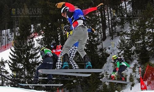 4 февраля 2017 года, Банско, в разгаре соревнования этапа кубка Мира по сноуборду