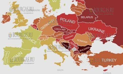 Болгария вошла в топ-13 самых загрязненных стран Мира