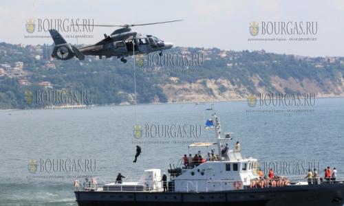 Корабли НАТО на рейде Варны, болгарские ВМС