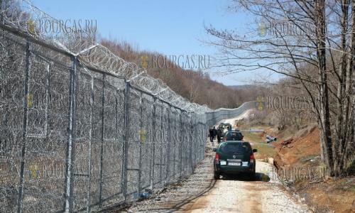 18 марта 2017 года, обстановка на болгаро-турецкой границе пока спокойная
