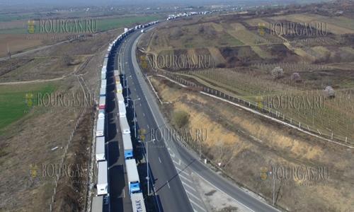 21 марта 2017 года, на пунктах перехода на болгаро-греческой границе в последние дни длина очереди достигает 15 км
